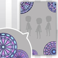 (Show Items) Circle Stained Glass Decor2 ver.1