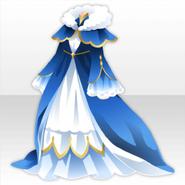 (Tops) Penguin Queen Long Dress ver.A blue