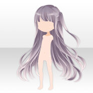 (Hairstyle) Lavshuca Mademoiselle Long Hair ver.A purple