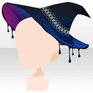 (Head Accessories) Witch Sexy Poison Hat