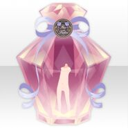 (Back Accessories) Happy Makeup Girls Perfume Bottle ver.A pink