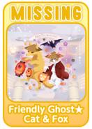 (Characters) Mononoke MARCH - Friendly Ghost★Cat & Fox