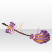 (Hand Accessories) Mononoke Spiderweb Ribbon Flying Broom ver.A purple