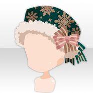 (Head Accessories) Snow Land Romantic Hat ver.A green