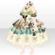 (Tops) Elegant Perfume Dress ver.A green