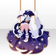 (Tops) Girl Swinging on Swing Style ver.A purple