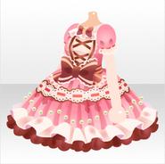 (Tops) Sweet Pink Lolita One-Piece ver.A pink