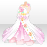 (Tops) Flower Songstress Dress ver.A pink