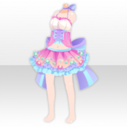 (Tops) Magical Pot Idol Dress ver.A pink