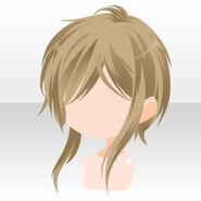 (Hairstyle) Bishop Natural Short Hair ver.A brown
