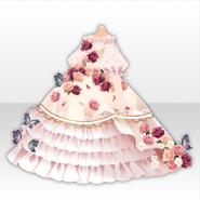 (Tops) Oblivious Flower Pretty Princess Rose Dress ver.A pink
