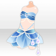 (Tops) Fairy Dancer Sexy Dress ver.A blue