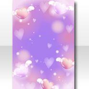 (Wallpaper Profile) Magical Girl Heart Wallpaper ver.A purple