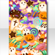(Wallpaper Profile) Trick or Treat Wallpaper ver.A orange