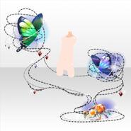 (Avatar Decor) Jewel Spider & Butterfly ver.A purple