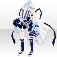 (Tops) Punk Battle Uniform Style ver.A blue