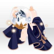 (Hand Accessories) Snow Dome in Hand ver.A blue