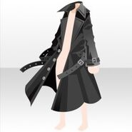 (Outerwear) Undercore Trench Coat ver.A black