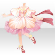 (Tops) Bloom Princess Style ver.A pink