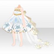 (Tops) Glass Beauty Dress ver.A white