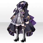 (Tops) Phantom Elegant Witch Style ver.A purple