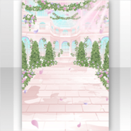 (Show Items) Garden with Throwing Sweet Rose Light Stage ver.1