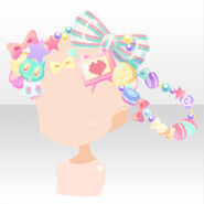 (Head Accessories) CocoPPa Dolls Princess Meryl Hair Accessories ver.A green