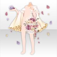 (Outerwear) Secret Fleur Khaju Stall ver.A cream