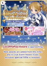 (Promotion) CocoPPa Play Award 2020 Pre-Promo
