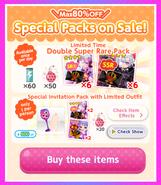 (Packs) Glittery ZOMBIE - Special Packs 3