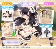 (Banner) Royal girl - Cooking Point Rewards