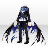 (Tops) Underworld Classic Wing Style ver.A blue