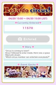 (Theme) Snap Contest 7 - Let's do circus!