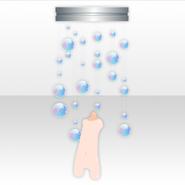 (Back Accessories) Deep-Sea Bubble Chandelier ver.A blue