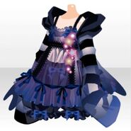 (Tops) Possession Cute Nighty ver.A blue