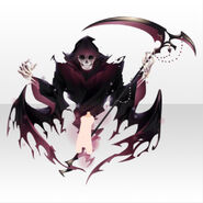 (Avatar Decor) Underworld Death Scythe Familiar Spirits ver.A red