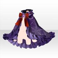(Outerwear) Spider Girl Lace Cloak ver.A purple