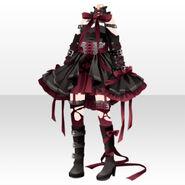 (Tops) Lavshuca Demon Girl Dress ver.A red