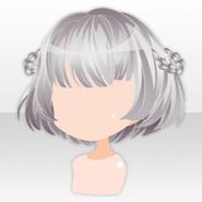 (Hairstyle) Hollow Park Short Bob Hair ver.A gray
