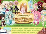 3 Million Cheers Promotion