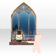 (Avatar Decor) Tower Mysterious Window ver.A blue