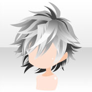 (Hairstyle) Undercore Rough Short Hair ver.A gray