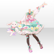 (Tops) CocoPPa Dolls Pop Candy Style ver.A green