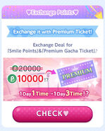 CocoPPa Play 3rd Anniversary Promo 2 (Exchange Points)