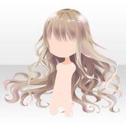 (Hairstyle) Floracion Princess Wavy Hair ver.A brown