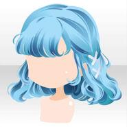 (Hairstyle) Hydrangea Braided Hair ver.A blue