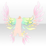 (Back Accessories) Botanical Elf Wings ver.A pink