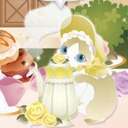 (Characters) Afternoon Tea - Magic Pot Cat Yellow