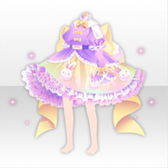 (Tops) Fancy Rabbit Big Ribbon Dress ver.A yellow