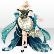 (Tops) Talented Clock Corset Dress ver.A blue